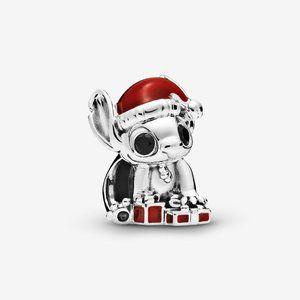 Pandora Disney Stitch Christmas Charm